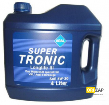 Aral SuperTronic LongLife III 5W30 4L, Aral, 20479